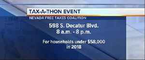 Free help for Tax Day in Nevada [Video]