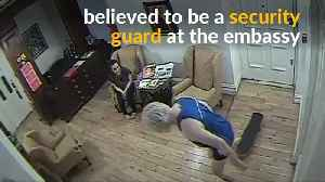 Video shows Assange skateboarding inside Ecuador embassy [Video]