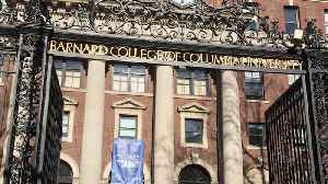 Columbia Student Alexander McNab Restrained by Officers at New York's Barnard College [Video]