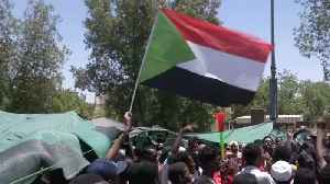 Protesters In Sudan Call For Civilian Transitional Government [Video]