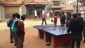 Table Tennis Enjoyed Around the World [Video]