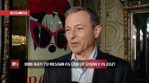 Bob Iger Is Set To Retire From Disney In 2021 [Video]