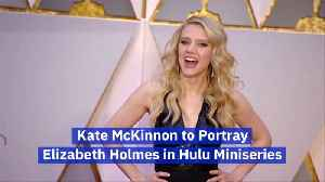 Kate McKinnon To Portray 'Theranos' Founder for Hulu Series [Video]