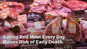You Might Think Twice About Eating Too Much Red Meat [Video]