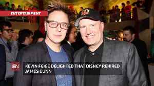 James Gunn Is Back On Board At Disney [Video]