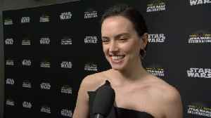 Star Wars Celebration Red Carpet: Daisy Ridley [Video]