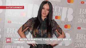 Lily Allen Is A Very Busy Creator [Video]