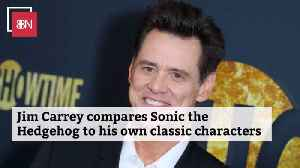 Jim Carrey Can Relate To Sonic The Hedgehog [Video]