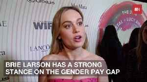 Brie Larson Takes A Firm Stand On Gender Pay Gaps [Video]