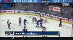 QUEST FOR THE CUP | Achieva Credit Union Check of the Game April 14 [Video]