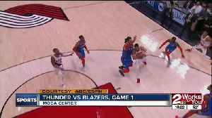 News video: Thunder Lose Game 1 to Blazers 104-99