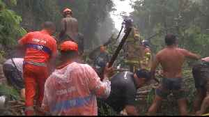 Brazil: Search for survivors continue after buildings tumble [Video]