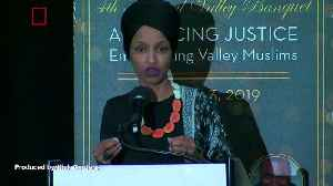 News video: Rep. Ilhan Omar Says She's Seen an Increase in Death Threats After President Trump's Tweet
