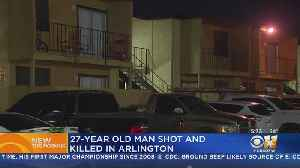 Apartment Shooting In Arlington Leaves 1 Dead [Video]