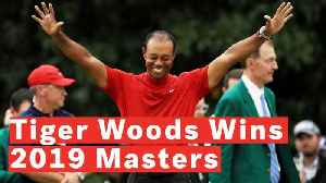 Tiger Woods Wins Fifth Masters Title [Video]