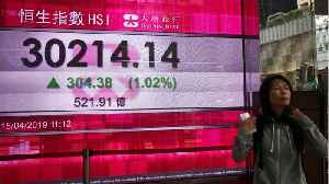 News video: Asian Shares Up On U.S.-China Trade Progress