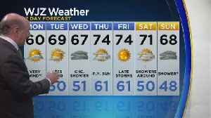 Marty Bass Monday Morning Weather [Video]