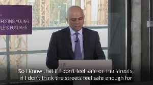 Sajid Javid: Stop-and-search will save lives [Video]