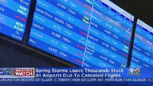 Airlines Cancel Nearly 200 Flights At O'Hare And Midway [Video]