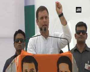 Rahul Gandhi asks PM Modi about money used in massive publicity [Video]