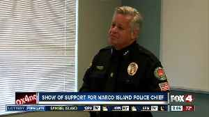 Show of support expected for Marco Island Police Chief [Video]