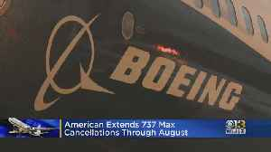 American Airlines Extends Cancellations Until August 19 Because Of 737 Max Grounding [Video]
