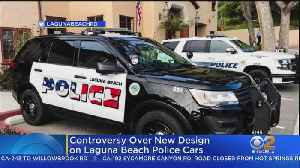 Laguna Beach To Decide Fate Of Police Patrol Car Flag Logo