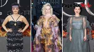 'Game of Thrones' leading ladies take the crown for best cast style [Video]