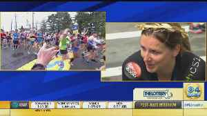 Manuela Schar Reacts To Winning Boston Marathon Women's Wheelchair Race Year After Dropping Out [Video]