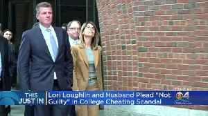 Lori Loughlin, Husband Plead Not Guilty In College Scandal [Video]
