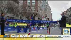 News video: Lawrence Cherono Wins Men's Boston Marathon By One Second In Dramatic Finish