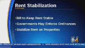 State Lawmakers Discuss Rent Control [Video]