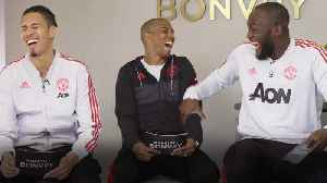 Lukaku, Smalling and Young on Man United player travel habits [Video]