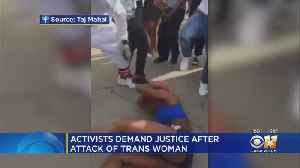 Calls For Justice In Dallas After Transgender Woman Attacked [Video]