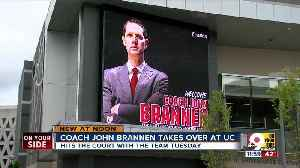 It's official: Coach John Brannen takes over at UC [Video]