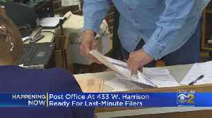 Chicago Post Office To Stay Open Late For Last-Minute Tax Filers [Video]