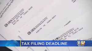 Hurry To Meet The Tax Filing Deadline Tonight At Midnight [Video]