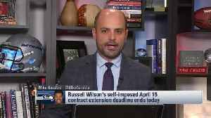 NFL Network's Mike Garafolo: Seattle Seahawks quarterback Russell Wilson's situation could be heading the Kirk Cousins route [Video]