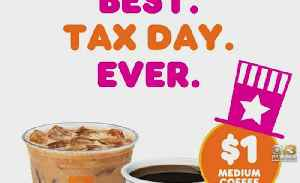 Tax Day 2019 Deals & Freebies [Video]