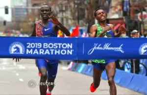 Closest Boston Marathon finish in over two decades [Video]