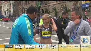 Jordan Hasay Finishes Third In Boston Marathon [Video]