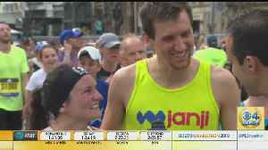 Husband And Wife From Louisville Finish Boston Marathon Together [Video]