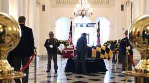 Mourners pay respect to Speaker Michael E. Busch [Video]