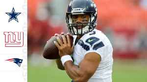 Around The NFL: Dream landing spots for quarterback Russell Wilson if Seattle Seahawks don't extend him [Video]