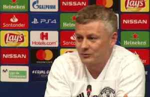 News video: Solskjaer says Manchester United need to deserve a win over Barcelona