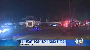 Fire Damages Texas Home Of Boxer George Foreman [Video]