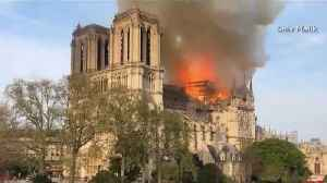 Fire At Notre Dame Cathedral [Video]