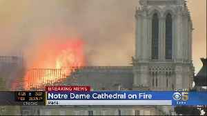Notre Dame Cathedral in Paris Burns in Catastrophic Fire [Video]