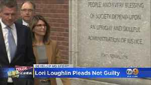 Lori Loughlin Pleads Not Guilty In College Bribery Scandal [Video]