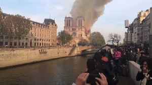 Notre Dame fire: Politicians around the world react to the blaze [Video]